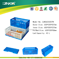 Wholesale foldable new PP plastic egg crate turnover box