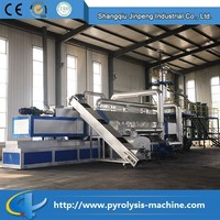 Continuous Automatic Used Rubber Tyre Recycling And Converting To Oil Machine For Sale