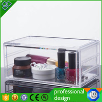 Clear Custom Design Fashionable Acrylic Charity Donation Box