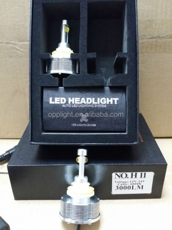 2014 New!CRE E 20w 30w 2400LM 3000LM 6500K H1 H3 H7 H8 H9 H11 9005 9006 single beam :2013 new motorcycle Cre e LED headlight 16w