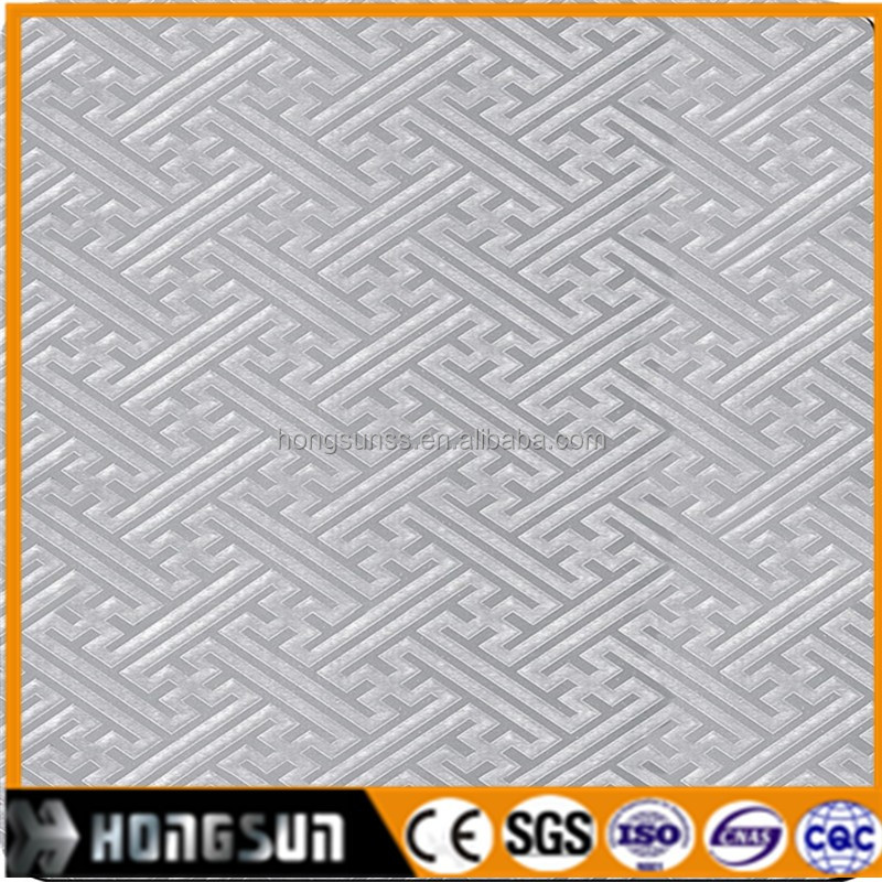 embossed stainless steel sheet 304 decoration plate