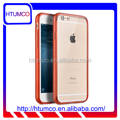 "Popular Transparent Red Double Layer Case for Apple iPhone 6S/6 (4.7"")"