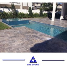 Natural Antiqued white limestone stone pool coping for Outdoor Floor Wall Countertop