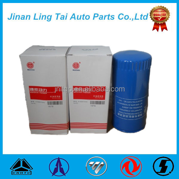 Factory direct supply genuine toyota oil filter / lube oil filter with low price