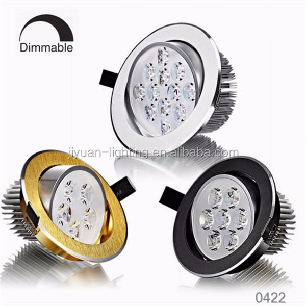 20W Gimbal Sharp COB LED Downlights 6 Inch DALI Triac Dimmable LED Down Light UL Meanwell Driver LED Round Down Light