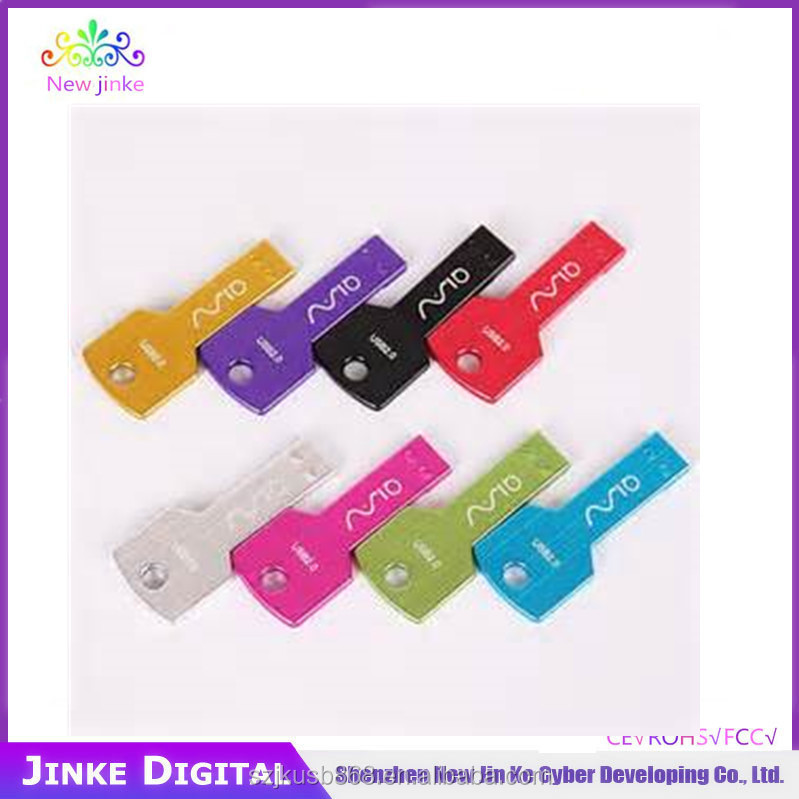USB flash drive/ USB disk/ USB pendrive usb flash drive key shape