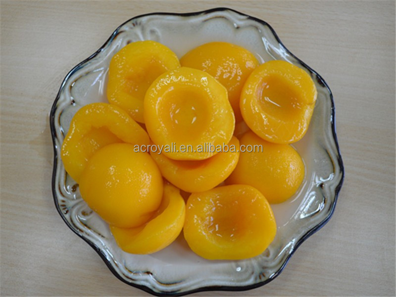 Canned Fruits/ Canned Yellow Peach Halves in heavy syrup 820g