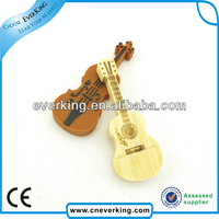 wholesale promotional gift usb flash drive in guitar shape
