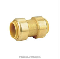 (2C-JELLY247) Lead free brass Ports Pneumatic Push Fitting Quick Plastic Connecting Pipe Tools push fit fitting