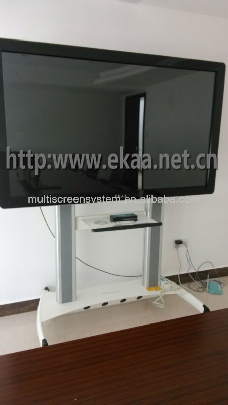 84 inch all in one touch screen pc with HDMI/VGA/USB/AV port