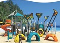Kaiqi Group Sea Sailing Series KQ60016A kids plastic commercial outdoor playground equipment