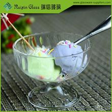 New Arrival ice cream bowls logo,ice cream bowl with stem wholesale
