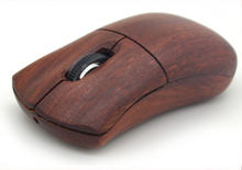 wood computer mouse logo can be carved joystick optical wireless 2.4g wood optical mouse