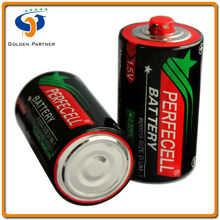 China manufacturer d size r20 dry battery 1.5v um1