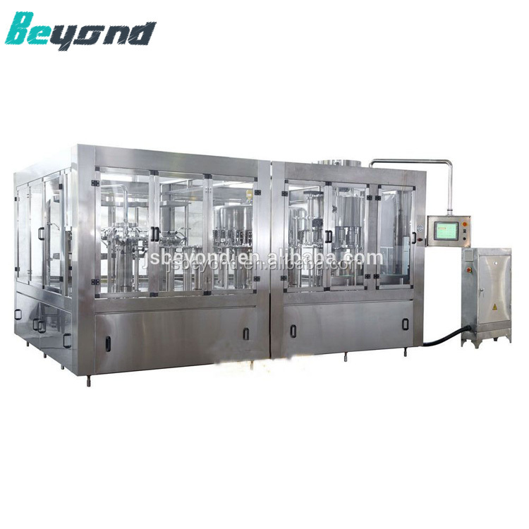 Automatic 5 gallon pure/minral water bottling machine/3 gallon water filling production line/washing filling capping machine