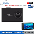 NEW! The first touch screen 2.45 inch LCD 4K / 1080p full hd action camera underwater 30m wifi sport DV