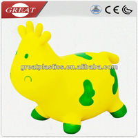 Inflatable toy ride on animals