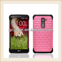 Diamond Cellular Phone Accessories for lg 2g Case/ Cases for Cellular for lg g2 Cover