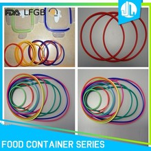 Bulk sale different colored great quality custom silicon o ring