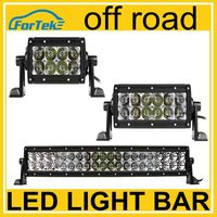 Genuine!!! Cheap light bar dual row straight led headlight off road 24w 72w 240w