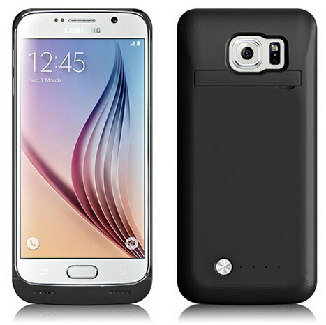 New goods 4200mAh External Backup Battery Power Back Case For Samsung Galaxy S6
