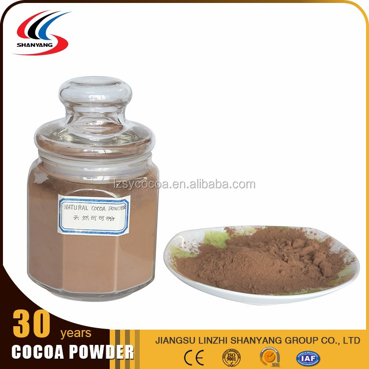 Best selling low sugar PH5.6-6.2natural cocoa powder low price