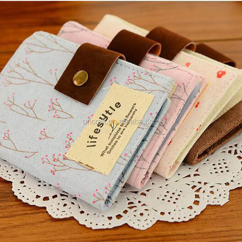 Korean edition creative rural floral card pack 20 card sets of canvas