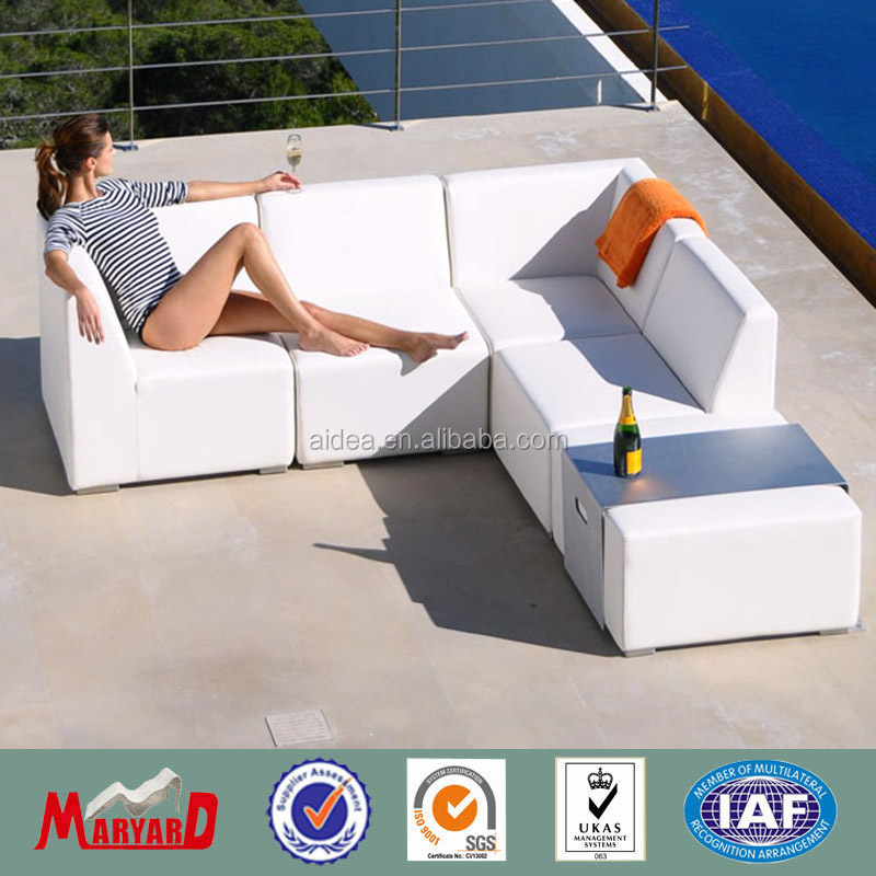 home furniture synthetic leather sofa outdoor/indoor