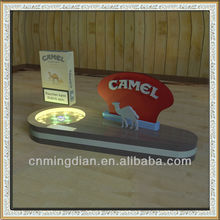 magnetic floating cigarette display stand,LED cigarette pack display