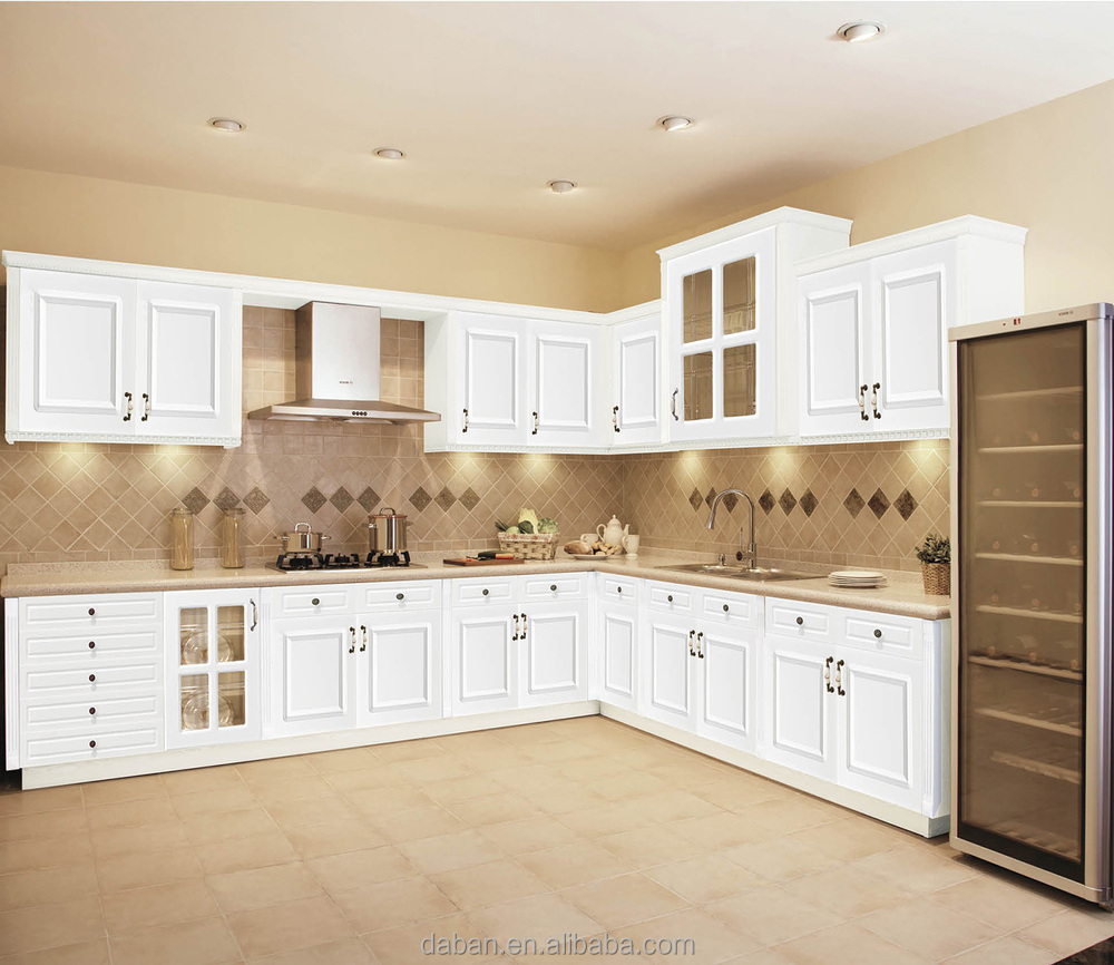 Latest New Design PVC Kitchen Cabinet, View PVC kitchen cabinet ...