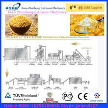 corn flakes machine manufacture line