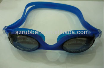 Hot Sell Professionable Silicone Swimming Goggles for Adult's Racing