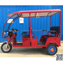 electric rickshaw 3 wheel motorcycle 60v 1000w motor driving speed 25km/h