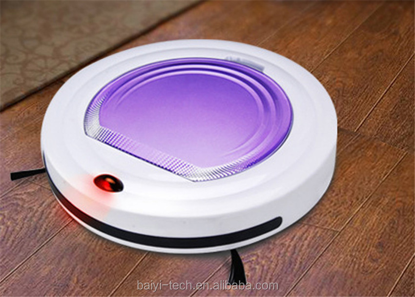 Whole cheap Advanced Obstacle Avoidance Mini Automatic Robot Vacuum Cleaner BY-300 Free shipping