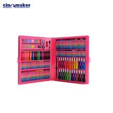 FAMA BSCI Sedex fatory audit color pencils free art supply samples princess clipboard stationery set