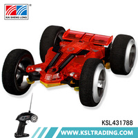 Novel design 5 channel plastic model rc car wl toys with light and usb