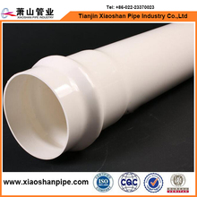PVC Plastic Pipe Schedule 40 White bell end pipe pvc pipe name