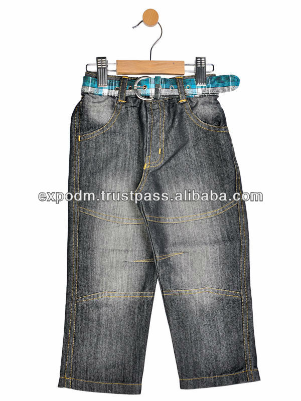 BOYS FULL LENGTH PANT WITH BELT