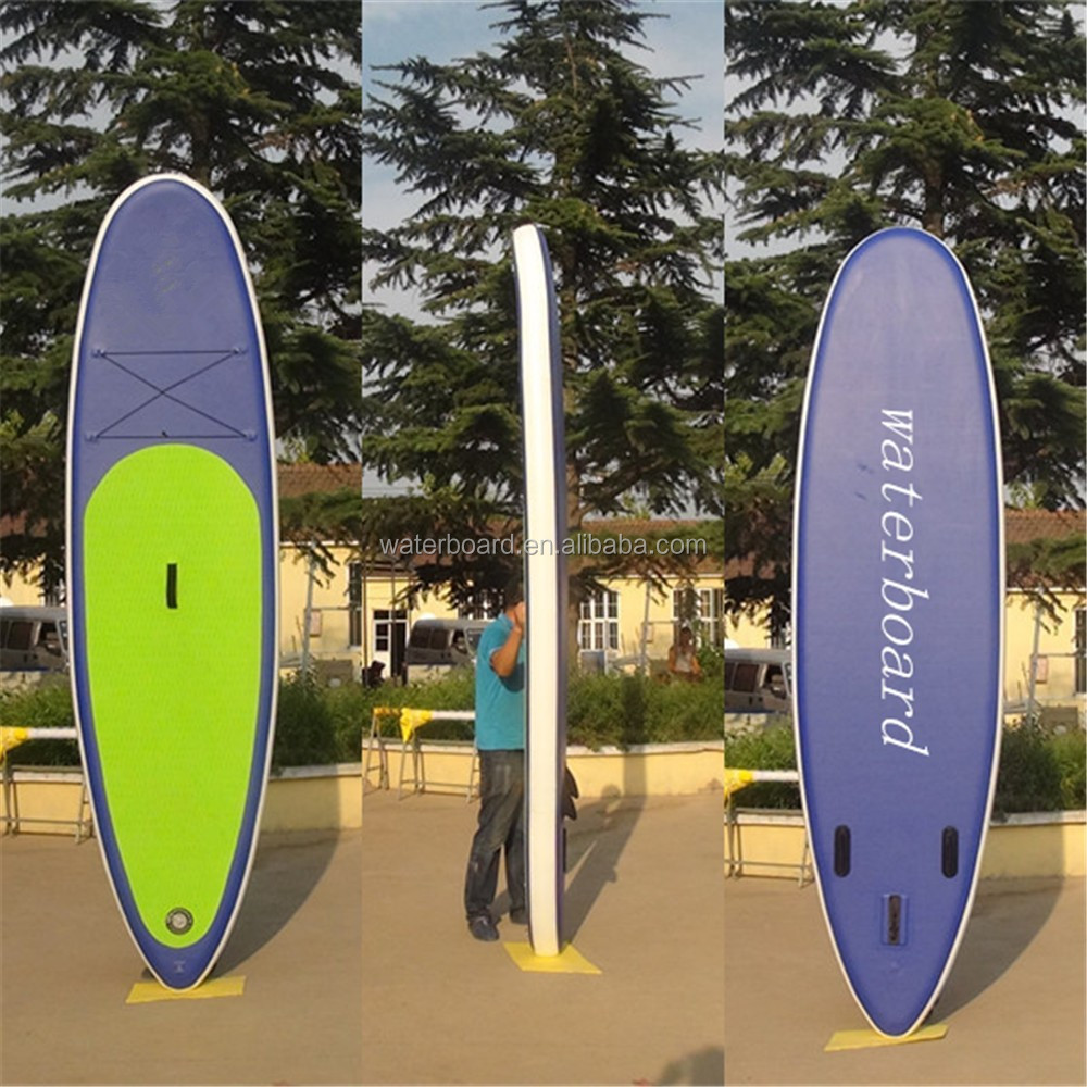 Water skiing Stand Up paddle surfboard/ inflatable surfing paddle board/Water floating inflatable board surfing