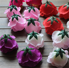 real touch flowers wholesale materials for flower making artificial rose head ball making