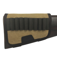 Tourbon Hunting Accessories Airsoft Sports Gun Buttstock Rifle Hold 9 Shells rifle Cartridge Holder/Ammo Carrier