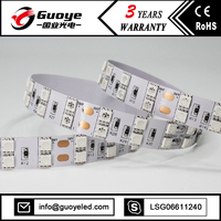 Factory direct led strip light specification with warm pure white color 5000k 5050 smd led strip light