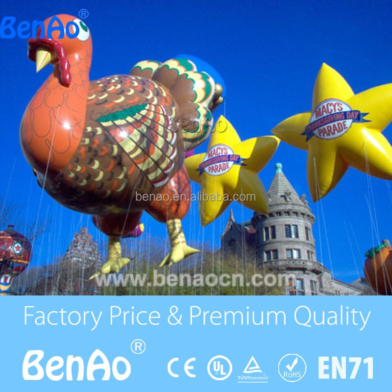 AO415 Turkey cartoon helium balloon gaint helium balloon inflatable zeppelin helium balloon