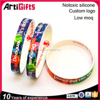 High end scented oem silicone bracelets
