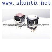 Subminiature Illuminated Pushbutton Switch DHM-3 SPDT Japanese push button DHM-4 Momentary DPDT