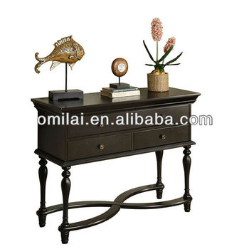 hotel console table with 4 drawers