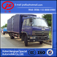 dongfeng 153 DFAC DFM 10Ton 12Ton 15Ton box truck van transport truck container van truck boxer truck in stock for sale