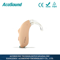 China AcoSound Acomate 420 BTE CE TUV ISO Proved Cheap Used Hearing aids for sale
