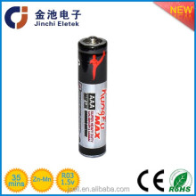Intrinsically safe r03 zinc carbon 1.5 volt dry cell battery