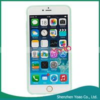 "New Arrival 2-in-1 for 5.5"" iPhone 6 Plus Frosted Back Cover Case"